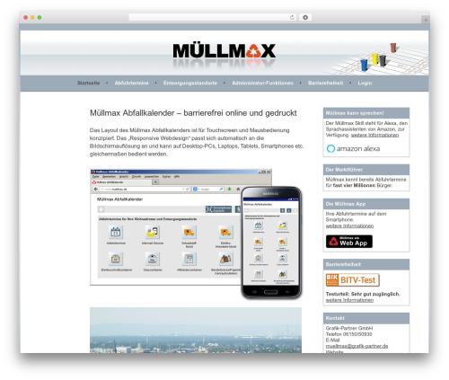 Sela top WordPress theme - muellmax.de