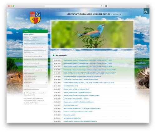 Starkers WordPress theme design - ceejarocin.pl