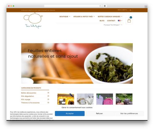 WordPress theme The Retailer - tea-whisper.fr