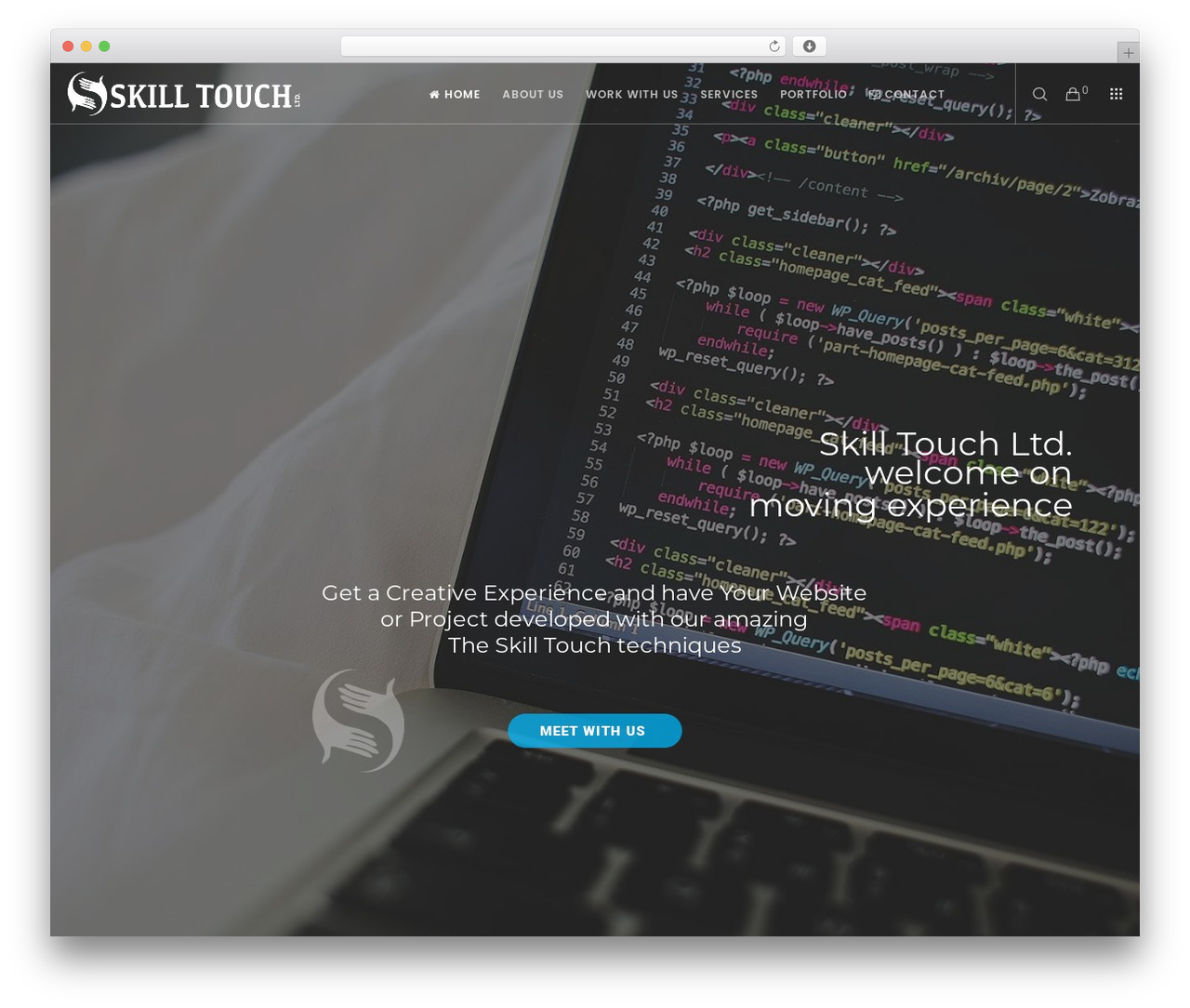 Best WordPress theme Movedo - skilltouch.net