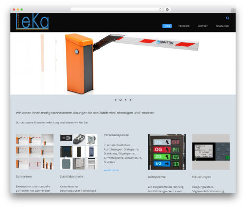 Conica theme WordPress - leka.gmbh