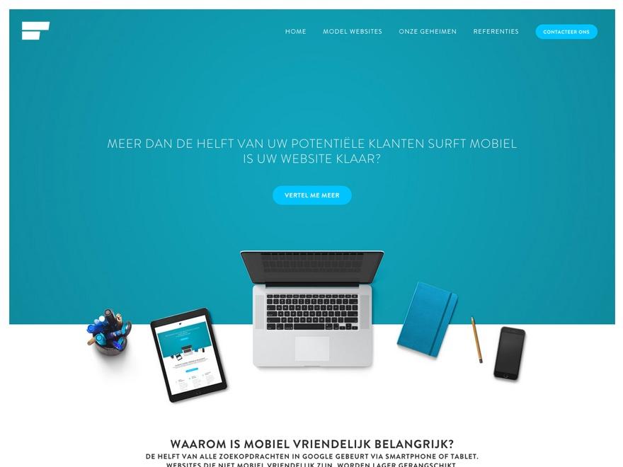 Flux Child WordPress theme design