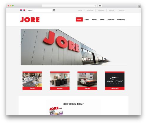 Lookshop WordPress ecommerce template - jore.be