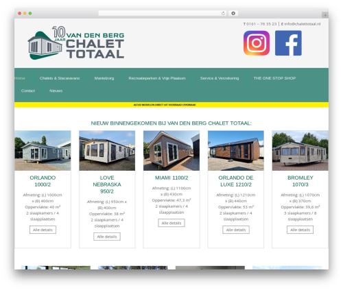 Theme WordPress Chester - chalettotaal.nl
