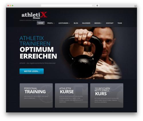 theme1948 top WordPress theme - athletix-fitness.de