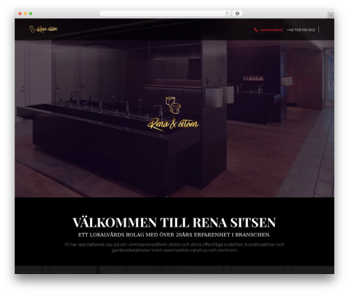 WordPress theme Eden - renasitsen.se