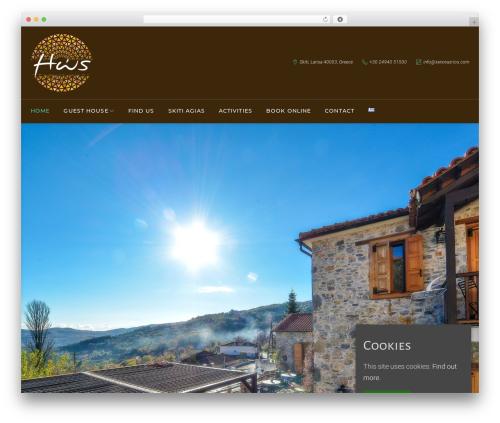 WP template HotelBliss - xenonas-ios.gr