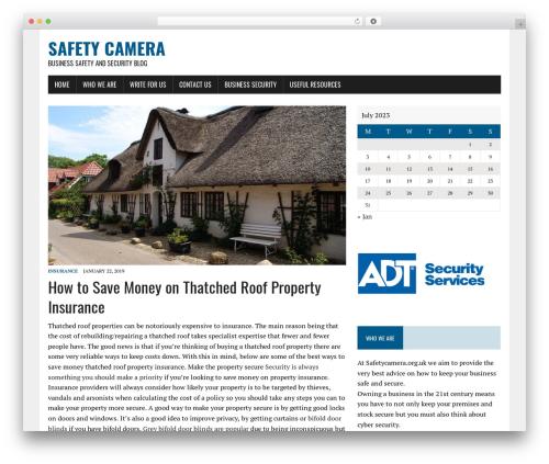 WP template MH Newsdesk lite - safetycamera.org.uk
