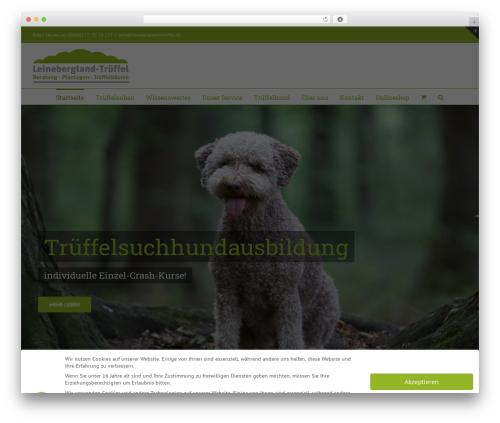 Avada theme WordPress - leinebergland-trueffel.de