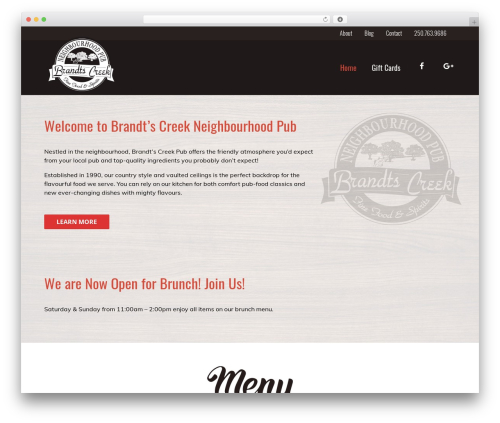 Best WordPress template HiiWP - brandtscreek.pub
