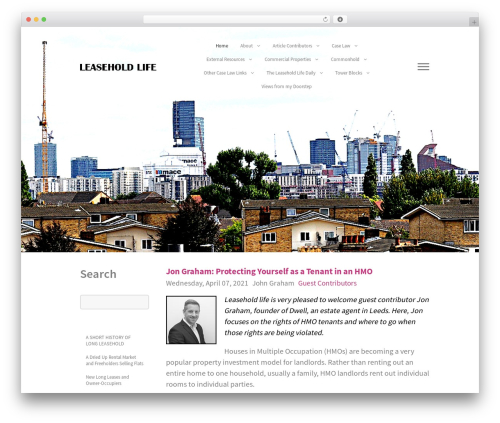 Gemini WordPress theme - leasehold.life