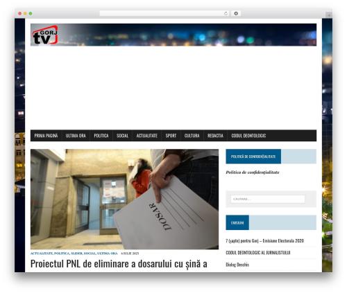 MH Newsdesk lite theme WordPress - gorjtv.ro