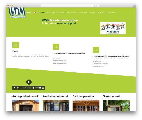 Movedo best WordPress theme - wdmnv.be