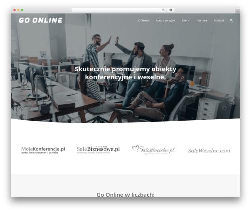 SmallBusiness CD WordPress template for business - goonline.pl