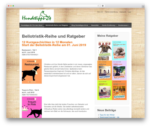 Template WordPress Responsive - hundetipps-24.de