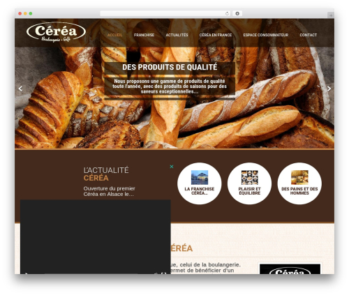 Coffee Pro theme WordPress - cerea.fr