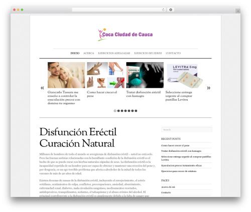 Elemin WordPress theme - coca-ciudaddecauca.org