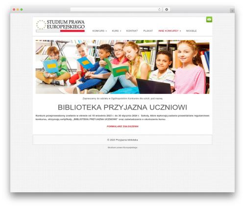 Sofix theme WordPress - przyjazna-biblioteka.pl