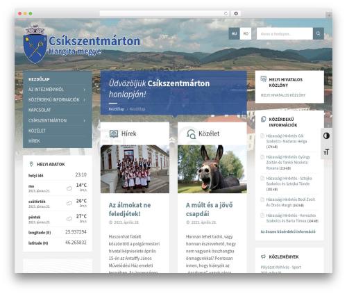 TownPress premium WordPress theme - csikszentmarton.ro