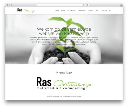 Divi WordPress theme - rasontwerp.nl