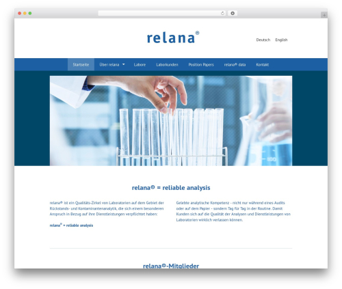 GeneratePress free WordPress theme - relana-online.de