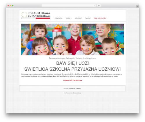 Sofix WordPress theme - przyjazna-swietlica.pl