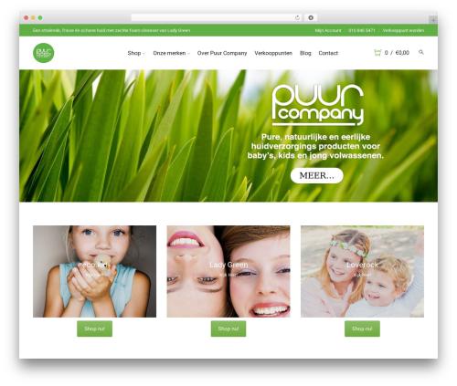Storesy WordPress ecommerce template - puurcompany.nl