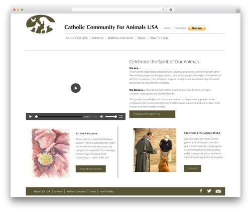 WordPress template Smart7 - catholiccommunityforanimals.org