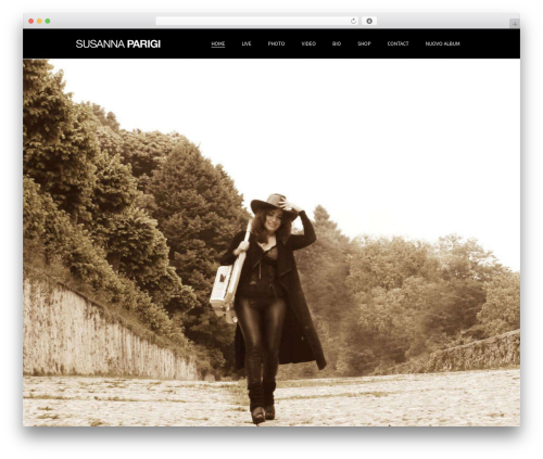 Beau theme WordPress - susannaparigi.it