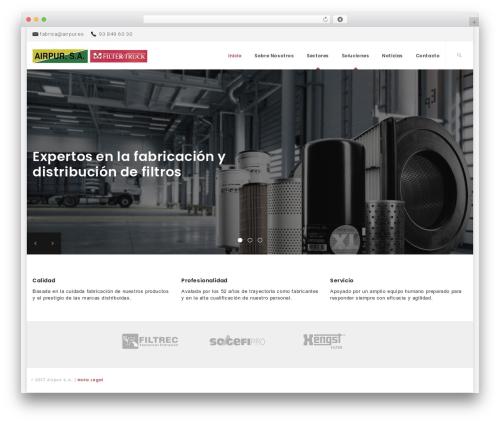 Best WordPress template Skyhead - airpur.es