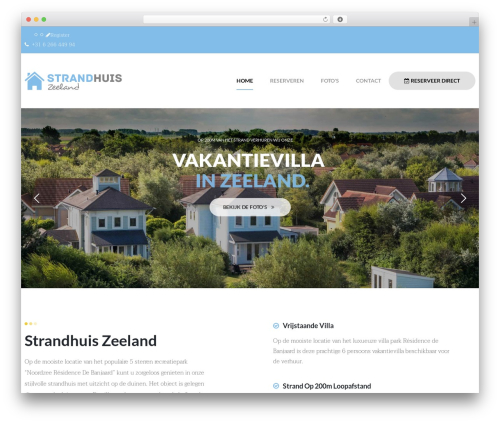 opalhomes best WordPress theme - strandhuiszeeland.nl