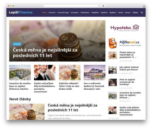 SocialNow by MyThemeShop WordPress shop theme - lepsi-finance.cz