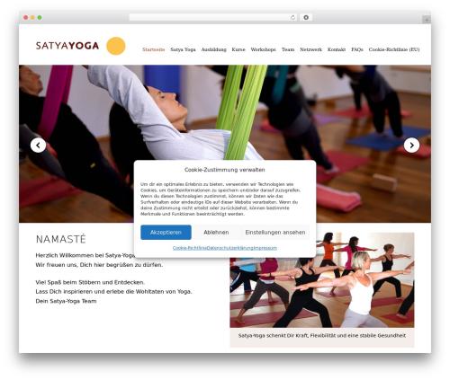 Theme WordPress satya - satyayoga.de
