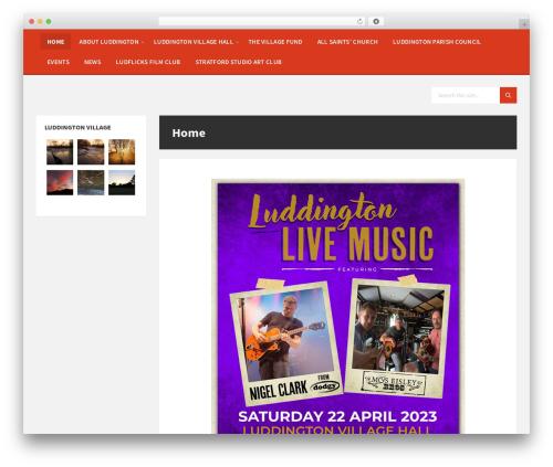 Theme WordPress TownPress - luddington.org