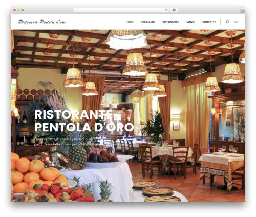 WordPress website template Averly - pentoladoro.it