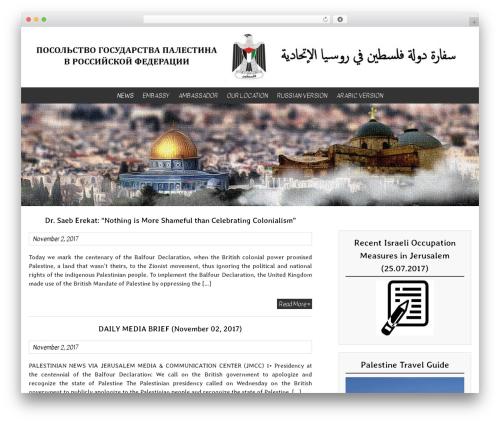 BlueGray WordPress theme download - en-palestine.ru