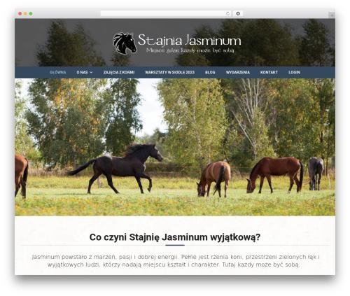 Equestrian WP template - stajniajasminum.pl