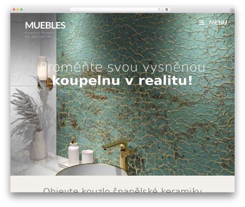 Prima WordPress page template - muebles.cz