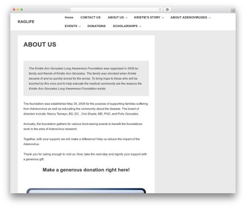 Responsive WordPress free download - kaglife.org