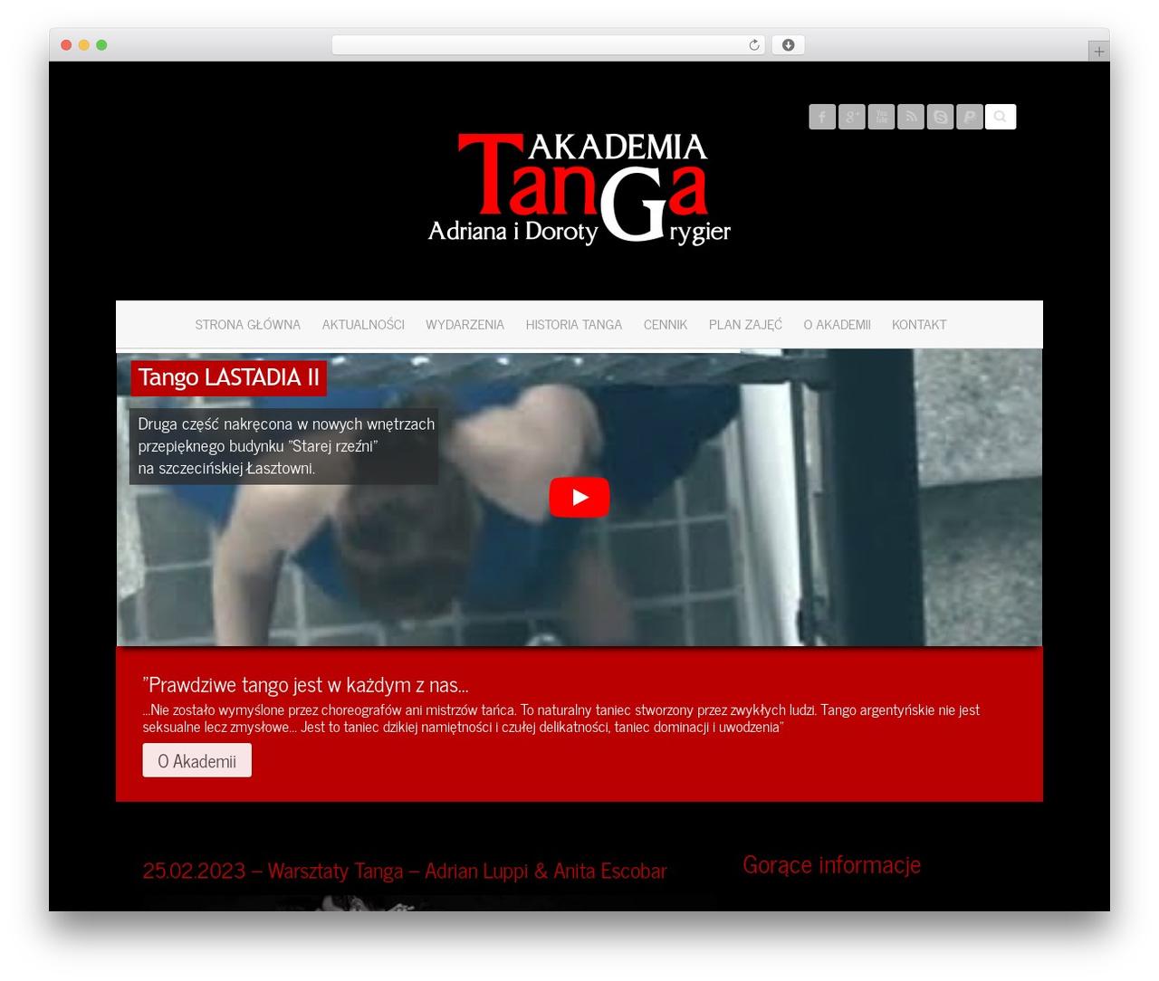 Attitude Pro WP theme - tango.argentino.pl