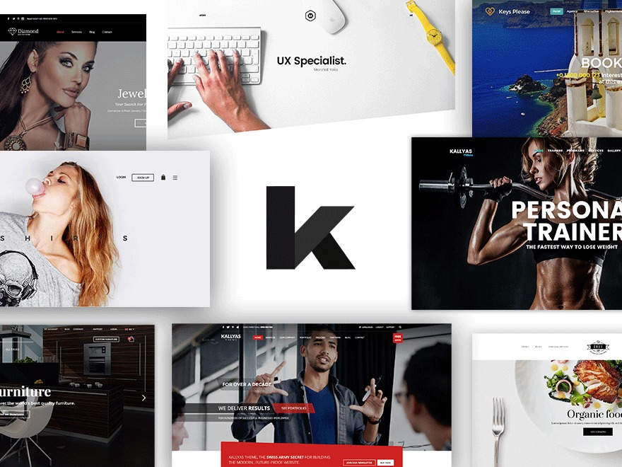 Best WordPress theme Kallyas