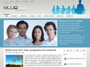 BlueCorp business WordPress theme