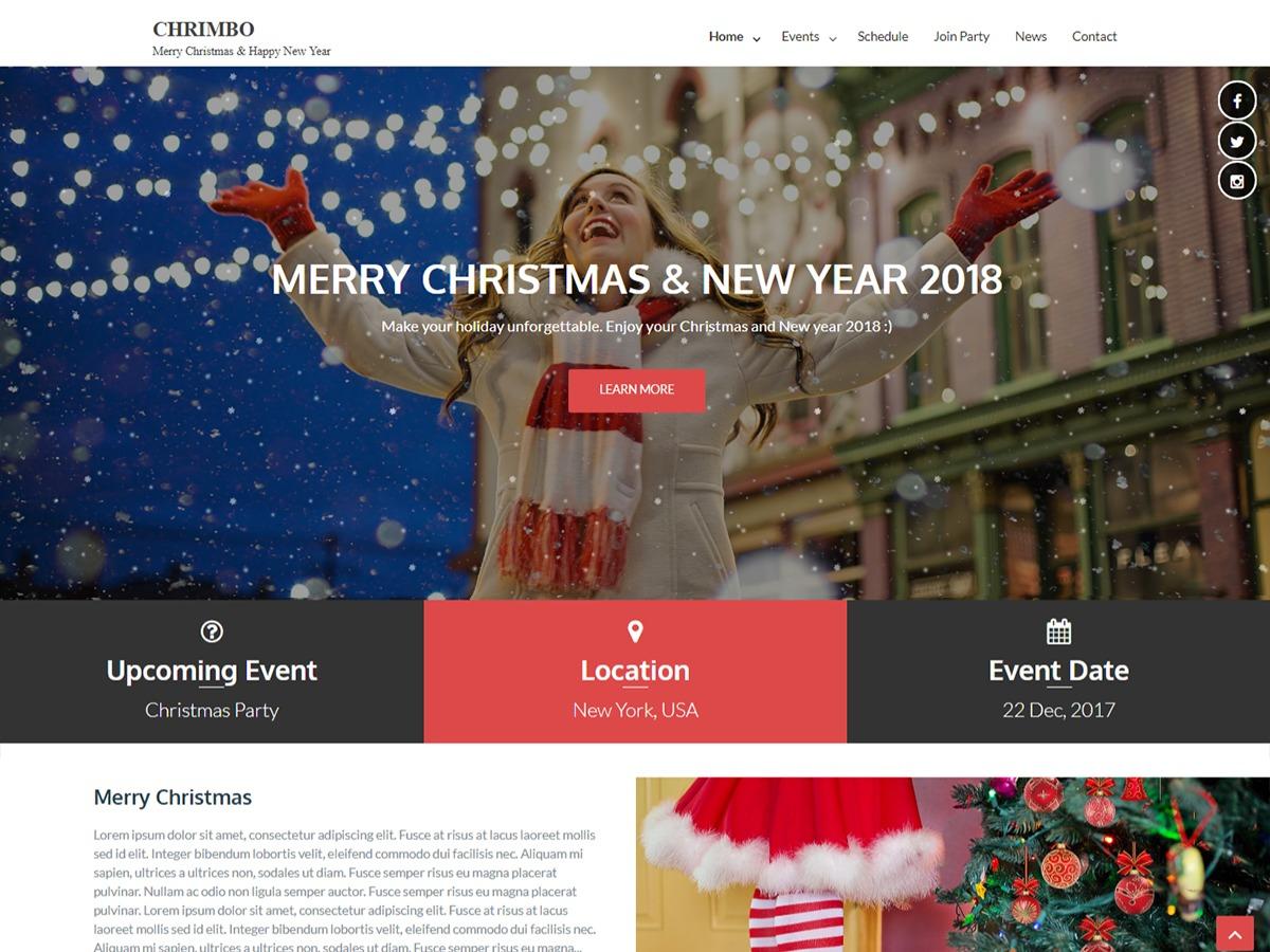 Chrimbo free WordPress theme