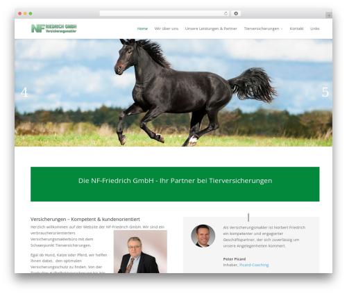 Divi WordPress theme - test.nf-friedrich.de