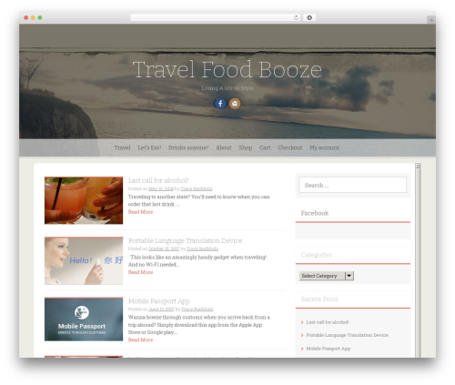 Freak WordPress theme free download - travelfoodbooze.com