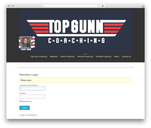 isis free WP theme - topgunncoaching.com