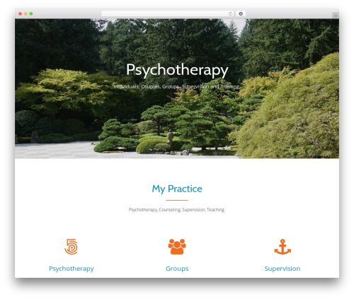 Llorix One Lite free WP theme - therapy.trialectics.com