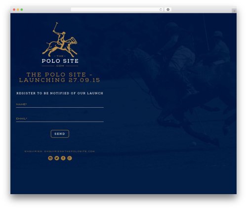 Polo WP template - thepolosite.com