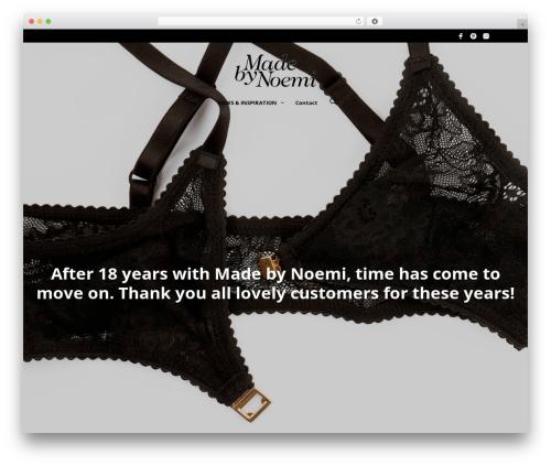 Theme WordPress Mr. Tailor - madebynoemi.com
