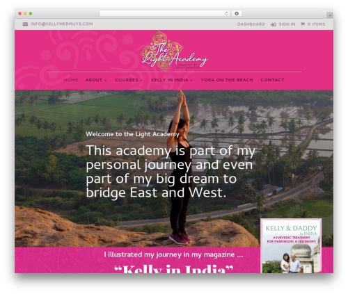 WordPress template Divi - the-light-academy.com
